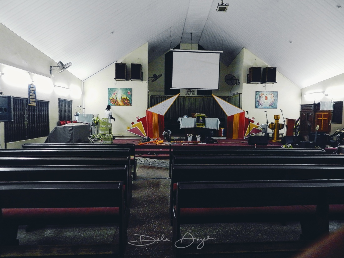 Installation at the Church