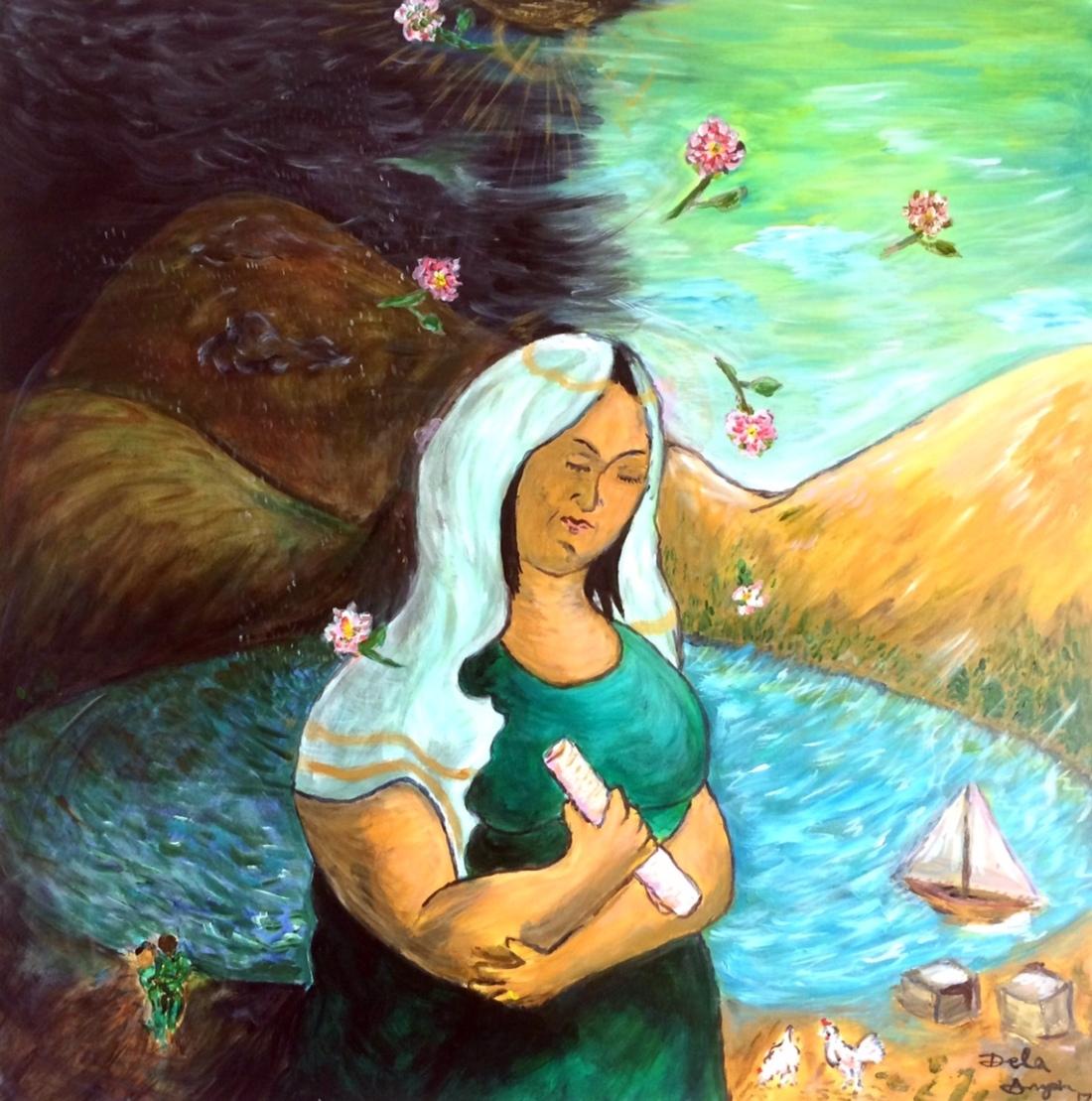 Acrylic on Canvas, 50x50cm