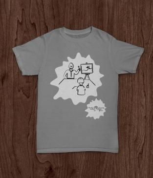 TShirt Creative minds grey